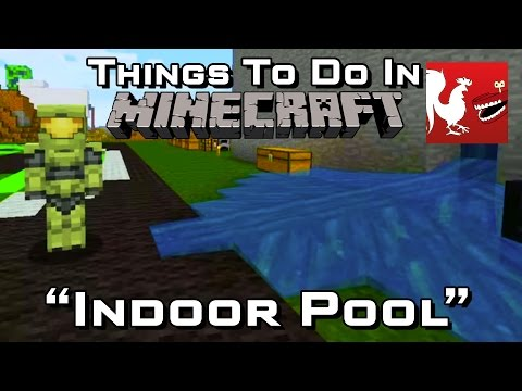 Things to do in: Minecraft - Indoor Pool