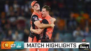 Perth powers into BBL Final with crushing win over Heat | KFC BBL|10