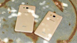 Samsung Galaxy J7 vs J5 (2016) - Drop Test! (4K)