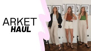 ARKET HAUL + TRY ON : Spring Outfit Ideas / Spring Haul 2020 / Sinead Crowe