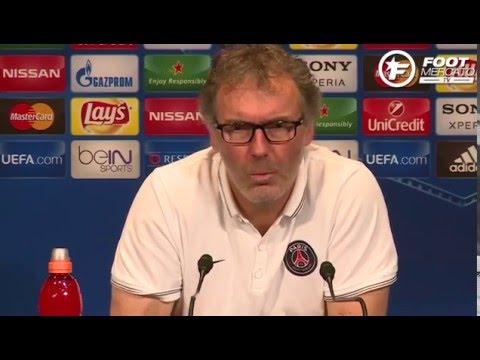 La réaction de Laurent Blanc à la vidéo insultante de Serge Aurier