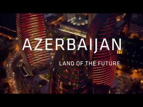 AZERBAIJAN - Land Of The Future      Baku 2015 European Games