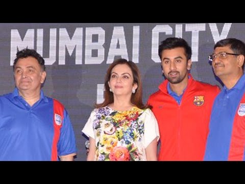 Ranbir Kapoor Launches His Soccer Team Logo