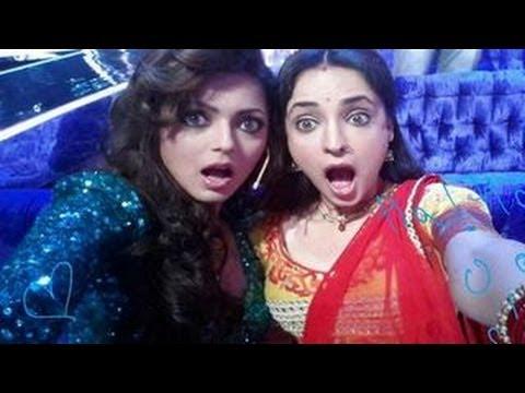 Drashti Dhami & Sanaya Irani's SPECIAL MOMENTS in Jhalak Dikhla Jaa 7 7th June 2014 Grand Premiere | موفيزهوس منوعات