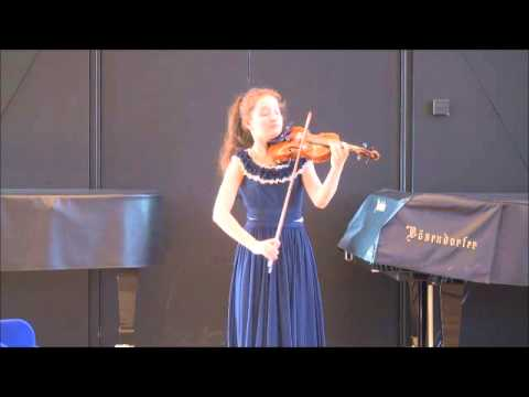 Anna Savkina - Bach Partita No.1 in B minor, BWV 1002 (VI. Double)
