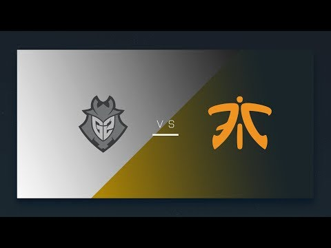 CS:GO: G2 vs. fnatic [Cbble] Map 1 - EU Final Day - ESL Pro League Season 6