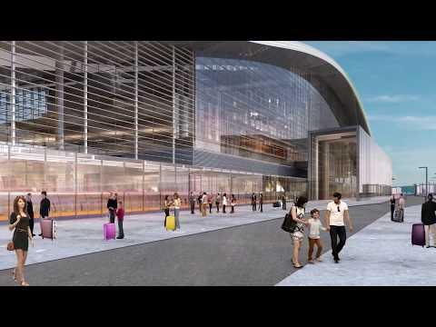 Вокзальный комплекс НҰРЛЫ ЖОЛ. NURLY ZHOL railway station