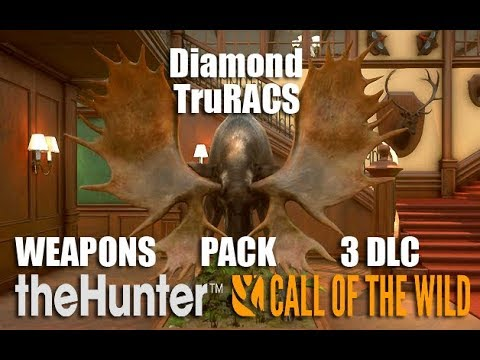 theHunter: Call of the Wild - Weapons Pack 3 DLC & TruRACS Moose First Look