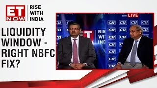 CII President-Designate Uday Kotak & Director general Chandrajit Banerjee on NBFC & liquidity