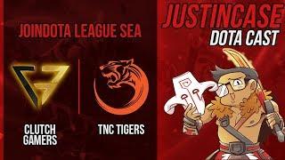 🔴LIVE : TNC Tigers vs Clutch Gamers - Joindota League - Cast by Justincase Dota #CASTERANTICRINGE