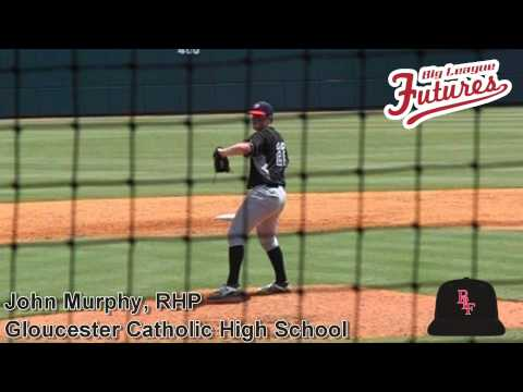 John Murphy, RHP, Gloucester Catholic High School, Pitching Mechanics at 200 fps