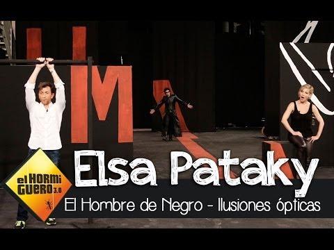 El Hormiguero 3.0 - Ilsuiones ópticas con Elsa Pataky