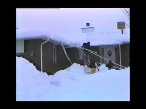 Homemade Roof Snow Removal Tool Using Pvc Pipe Youtube