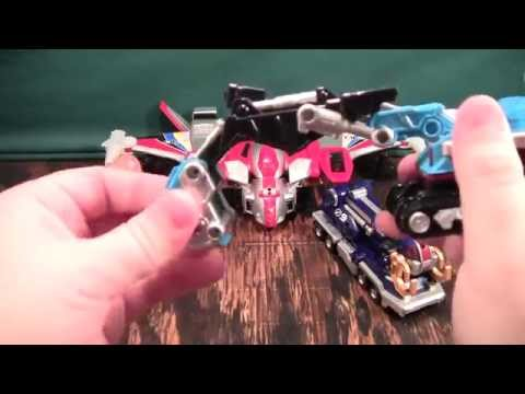 Gogo Sentai Boukenger Daitanken Review (Power Rangers Operation Overdrive Dualdrive Megazord)
