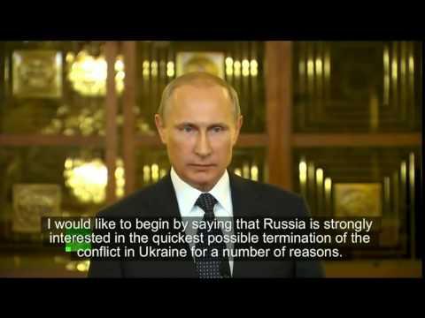 Vladimir Putin on US Sanctions and Ukraine – English Subs