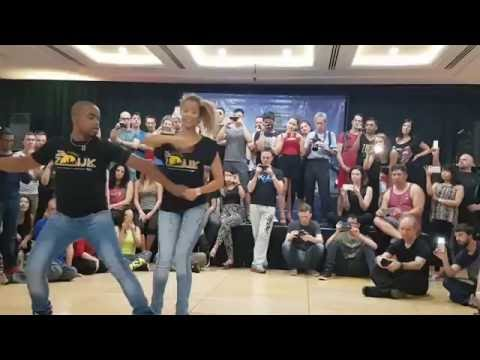Carlos and Fernanda   Effect moves   Zouk Demo - Australia, Casa do Zouk