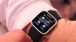Sony Ericsson Smart Watch hands-on