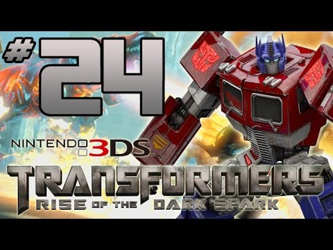 Transformers: Rise of the Dark Spark 3DS Walkthrough - PART 24 - I'm a Barbie-Bot In a Barbie World