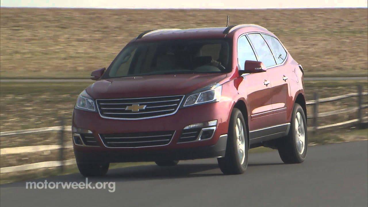 Road test 2013 chevrolet traverse buick enclave gmc