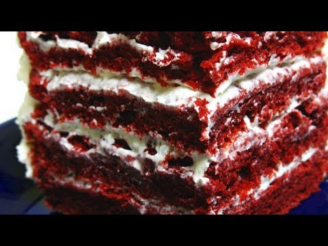 RED VELVET CAKE - VIDEO RECIPE