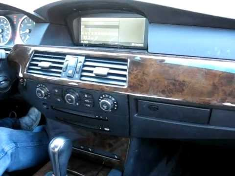 How to Remove Radio / CD / Navigation/ CCC unit  from 2007 BMW 530i for Repair