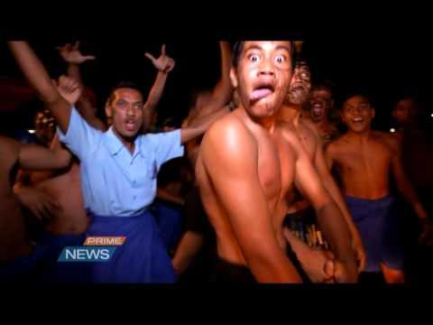 Joy in Apia ahead of first All Blacks test in Samoa