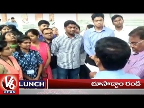 1PM Headlines | Pocharam Srinivas On Rythu Bandhu | Harish Siddipet Tour | BJP Bus Yatra | V6 News