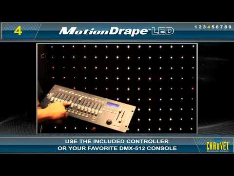 Chauvet Motion Drape LED Mobile Backdrop