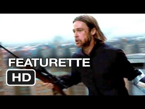 World War Z Featurette #1 (2013) - Brad Pitt Zombie Movie HD