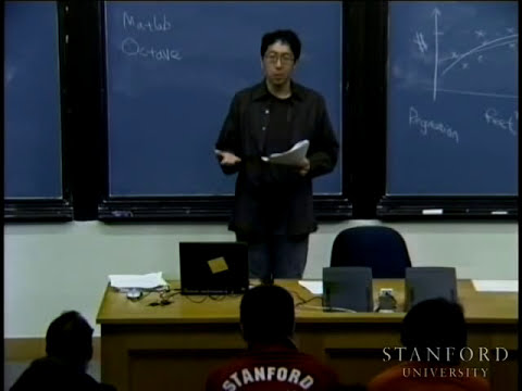 Lecture 1 | Machine Learning (Stanford)