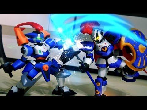 Danball Senki Stop motion - Achilles VS Perseus LBX紙箱戰機停格動畫