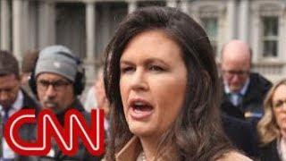 Should press secretary Sarah Sanders resign?