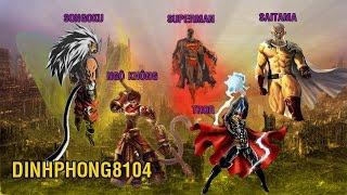 Songoku, SuperMan, Ngộ Không, Saitama và Thor, ai mới là số 1