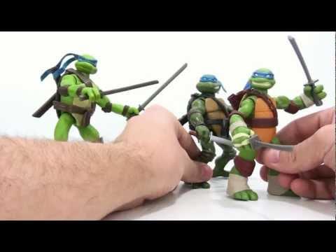 Video Review of the 2012 Teenage Mutant Ninja Turtles: Leonardo