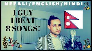 Best Mashup by Nepali Guy - English/Nepali/Hindi