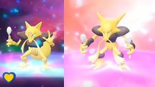 HOW TO Evolve Kadabra into Alakazam in Pokémon Let's Go Pikachu & Eevee
