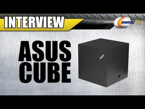 Newegg TV: ASUS CUBE with Google TV Interview and Demo
