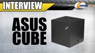 Newegg TV_ ASUS CUBE with Google TV Interview and Demo