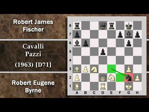 Partite Commentate Di Scacchi 82 - Byrne Vs Fischer - Cavalli Pazzi - 1963 [d71] video