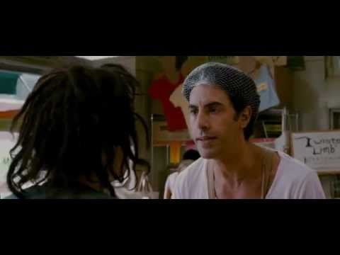 The Dictator Shop scene