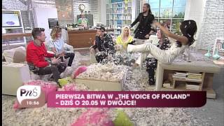 Voice of Poland bitwa na poduszki