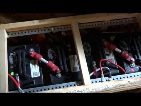 Rewiring My Off Grid Solar RV Battery Bank