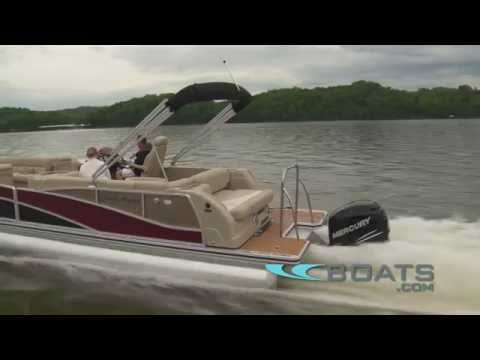 Harris FloteBote Grand Mariner SL 250 Pontoon Boat Review / Performance Test