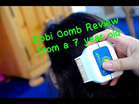 BEST way to kill LICE... Review of the ROBI COMB by a 7 year old