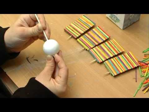 Children 39 s crafts milk carton windmill milk carton for Crafts with styrofoam balls for kids