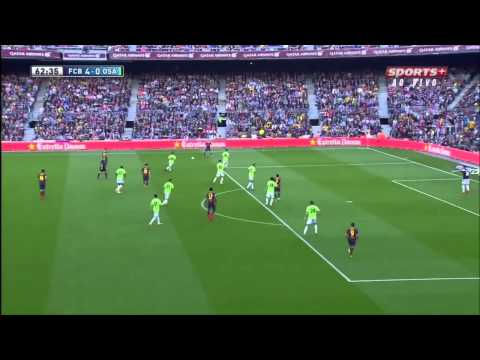 Full Highlight Barcelona vs Osasuna 7 - 0 All Goals Liga BBVA 16 03 2014