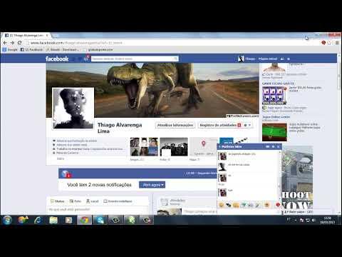 como fazer fundo para facebook com coreldraw x3