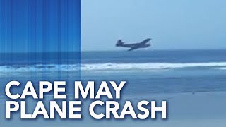 Small plane crashes off coast of Cape May, New Jersey