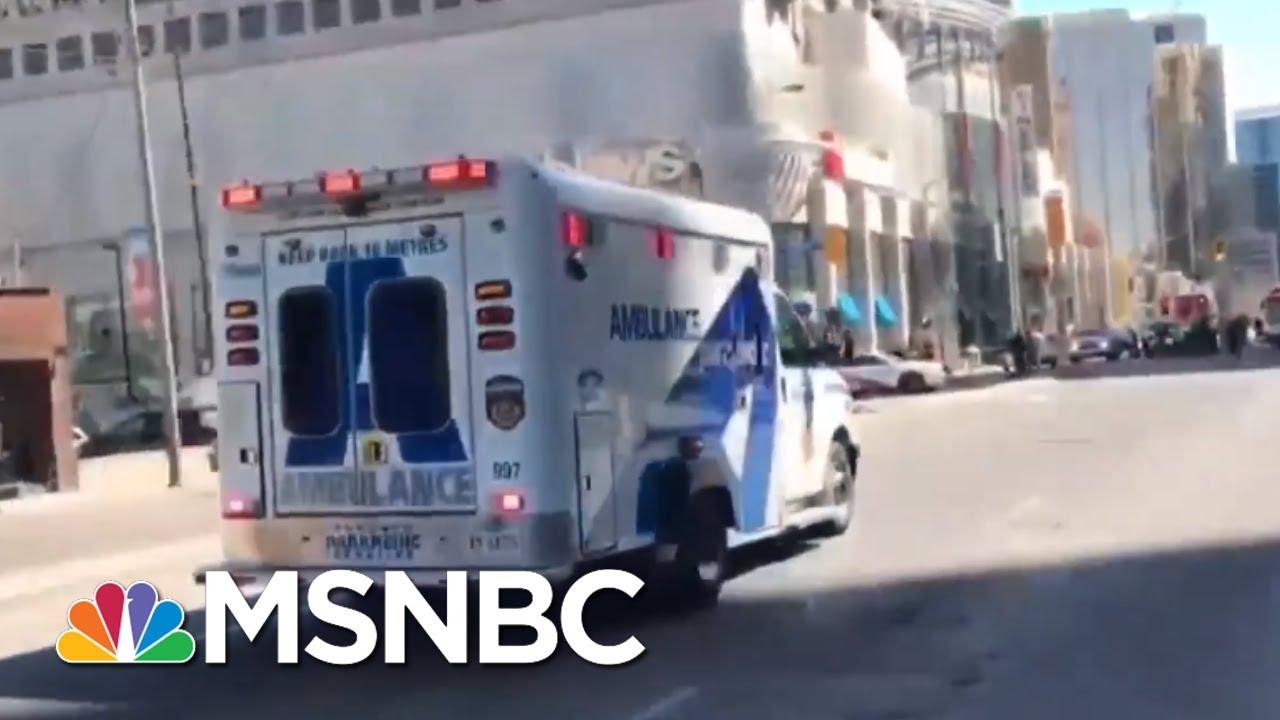 Multiple Pedestrians Hit By Van In Toronto, Driver In Custody | MSNBC