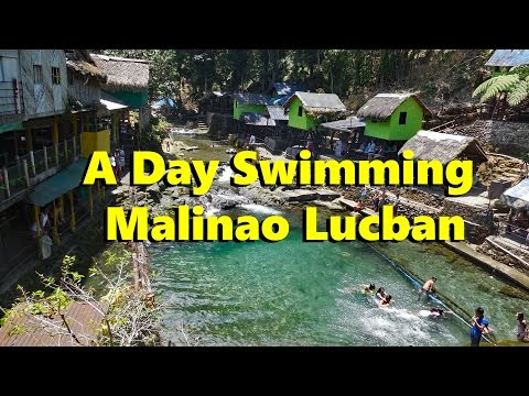Swimming at Malinao Lucban